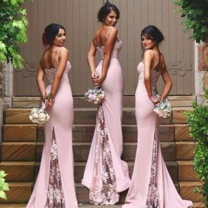 New Arrival Pink Bridesmaid Dresses..