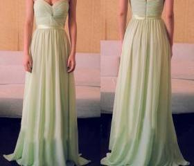 Hot Sales Sweetheart Cheap Long Prom Dress Custom Made