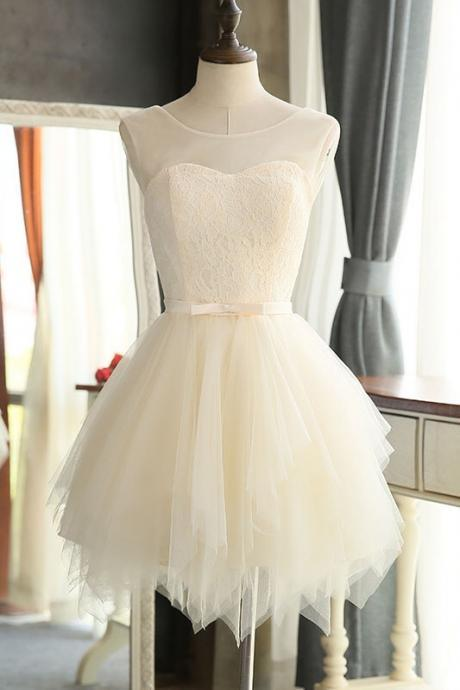 Simple Homecoming Dresses,Short Prom Dresses,Girls Cocktail Dress,Homecoming Dress,Graduation Dress,Party Dress,Short Homecoming Dress,Ivory Homecoming Dresses,Lace Homecoming Dress