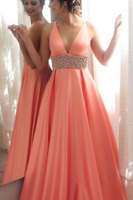 Charming Prom Dress,Sexy Prom Dress,Long Prom Dresses,Evening Party Dress,Fashion Prom Dress,Sexy Party Dress,Custom Made Evening Dress,Deep V-neck Prom Dresses,Prom Dress
