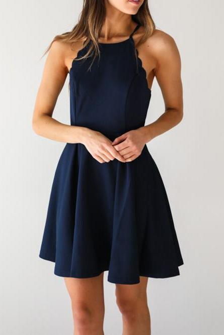 A Line Homecoming Dress,Dark Navy Homecoming Dresses,Sexy Homecoming Dress,Girls Party Dress,Short Cocktail Dresses,Navy Blue Prom Dresses