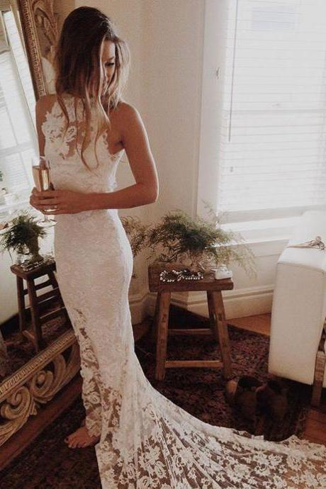 Romantic Boho Wedding Dresses,Beach Wedding Dress,Lace Wedding Gowns,Mermaid Wedding Dress,Princess Wedding Dresses,Backless Wedding Gowns,Sexy Wedding Dress,Wedding Dress